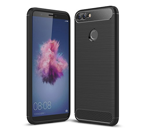 Huawei P Smart Case,Ultra Silm Case Cover [Durable][shockproof] Maximum  Shock Protection For Huawei P Smart(Black)