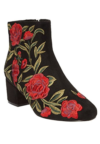 Embroidery Black Comfortview Booties Sidney The gq0F4RU