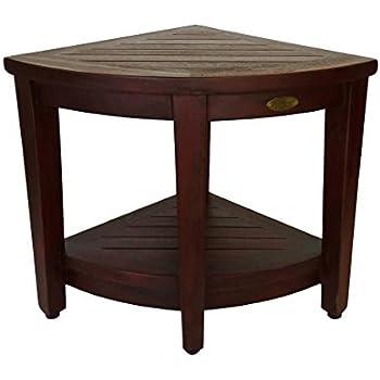 Amazon.com: decoteak Oasis rinconera de madera maciza de ...