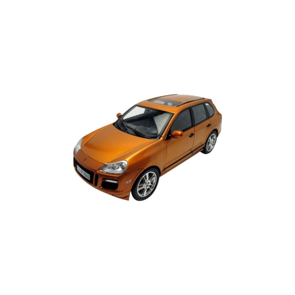 2007 Porsche Cayenne GTS Metallic Orange 118