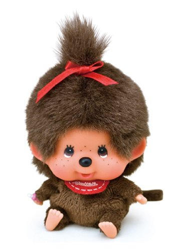 Face big Monchhichi beanbags girl