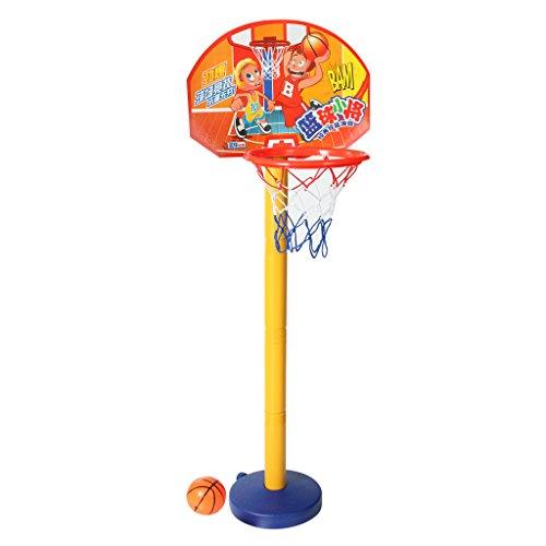 Toddler Kids Basketball Hoop Outdoor Portable Adjustable Basketball Stand