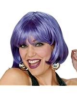 Adult Purple Short Bob Wig