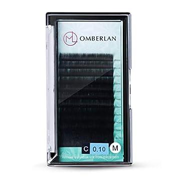 ab3663fe677 Omberlan Eyelash Extensions 0.15 Thickness D Curl 8-15mm Mixed Tray 12 Rows  False Eyelashes
