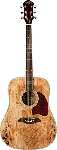 Oscar Schmidt OG2SM-R-U Acoustic Guitar - Spalted Maple