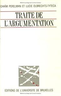 Traité de l'argumentation par Chaïm Perelman