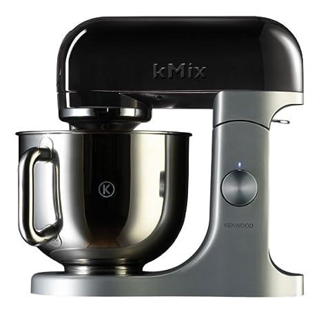 Kenwood kMix - Batidora amasadora, Negro, 8100 g, 349 mm, 361 mm, 223 mm, Aluminio