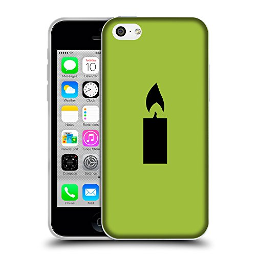 GoGoMobile Coque de Protection TPU Silicone Case pour // Q08520603 Religion 16 Android vert // Apple iPhone 5C