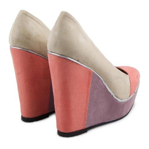 Dolcis - Zapatos de vestir de sintético para mujer Beige - crema