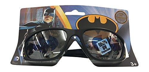 DC Comics Batman Childrens Kids Boys Black Sunglasses - 100% UVA & UVB - Batman Kids Sunglasses