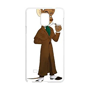 Samsung Galaxy Note 4 Cell Phone Case White Basil The Great Mouse Detective 005 VS5403627