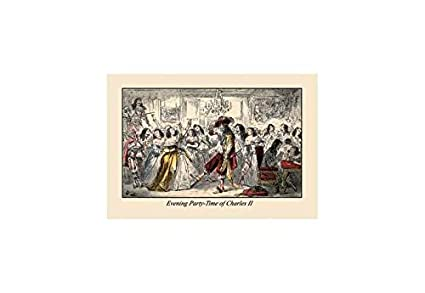 Amazon.com: Buyenlarge Evening Party - Time of Charles Ii Print ...