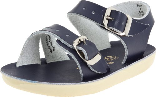 Salt Water Sandals by Hoy Shoe Sea Wees,Blue/Navy,3 M US Infant]()