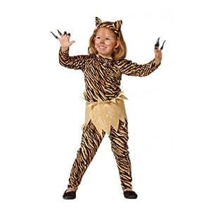 Disfraz tigresa niña. Talla 5/6 años.