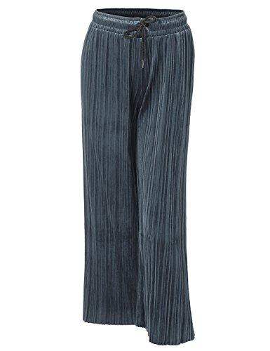Velvet Cropped Pants - 8