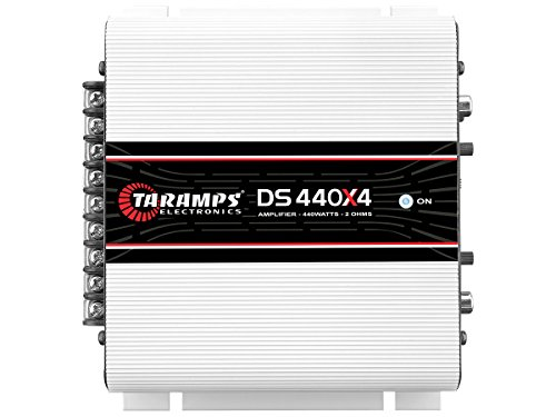 - TARAMPS 4CH Class D 110WTS X 4 2 Ohm Stable DS440X4