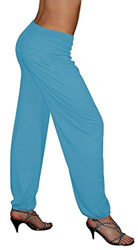 S&LU - Pantalón - para mujer Mittelblau