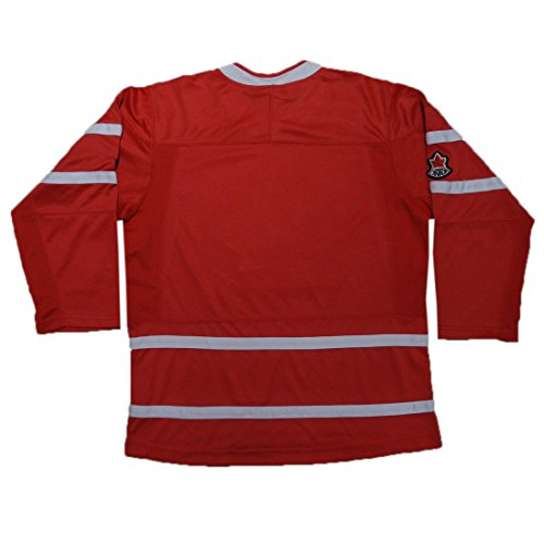 Hockey Canada Boys Hockey Jersey / Sweater with Embroidered Logo L/XL Red