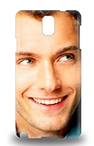 Tpu Shockproof Dirt Proof Jude Law The United Kingdom Male Cold Mountain Cover 3D PC Case For Galaxy Note 3 ( Custom Picture iPhone 6, iPhone 6 PLUS, iPhone 5, iPhone 5S, iPhone 5C, iPhone 4, iPhone 4S,Galaxy S6,Galaxy S5,Galaxy S4,Galaxy S3,Note 3,iPad Mini-Mini 2,iPad Air )
