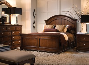 Amazon.com: Canyon Creek Chocolate 4Pc King Bedroom Set: Kitchen ...