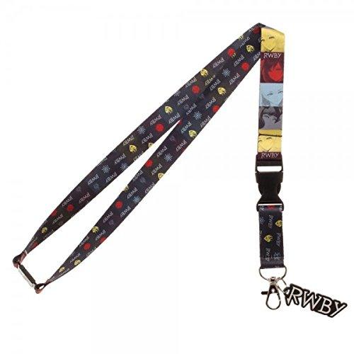 RWBY Lanyard , Multicolor , Small