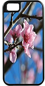 For Iphone 6Plus 5.5Inch Case Cover Diy Gifts Cover Lite Purple Flowers on branch Case Design