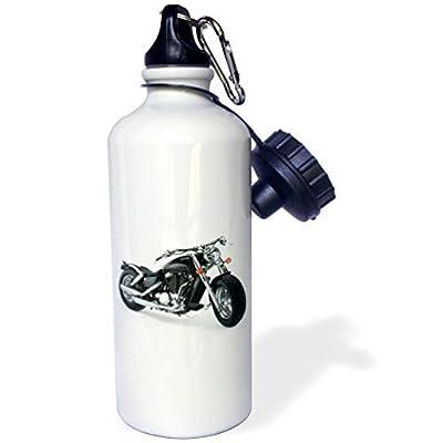 Statuear Davidson Moto en aluminium 567gram Bouteille d'eau 600ml Cadeau
