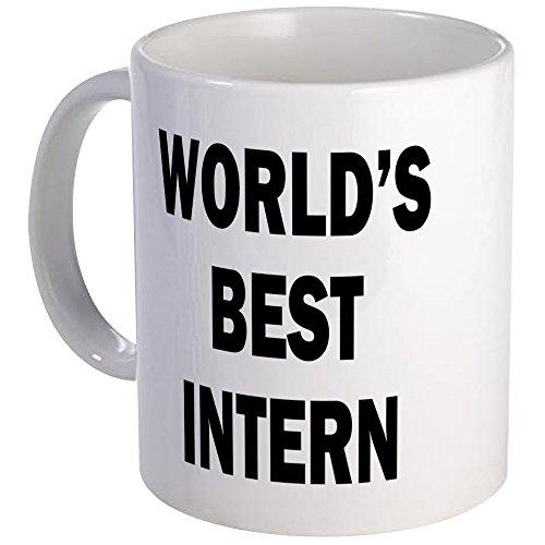 CafePress World's Best Intern Mug Unique Coffee Mug, Coffee Cup