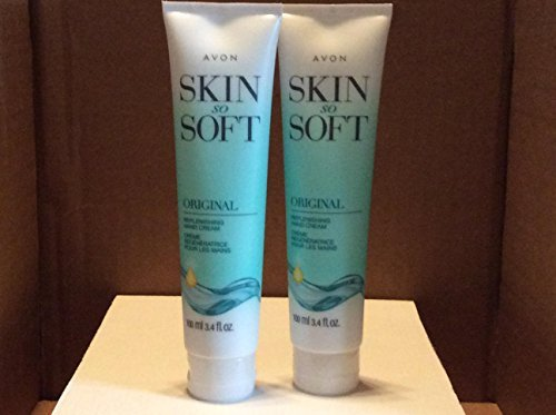 Skin So Soft Original Replenishing Hand Cream lot 2 pcs. (Best Lotion For Soft Hands)