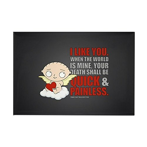CafePress Family Guy Painless Rectangle Magnet, 2