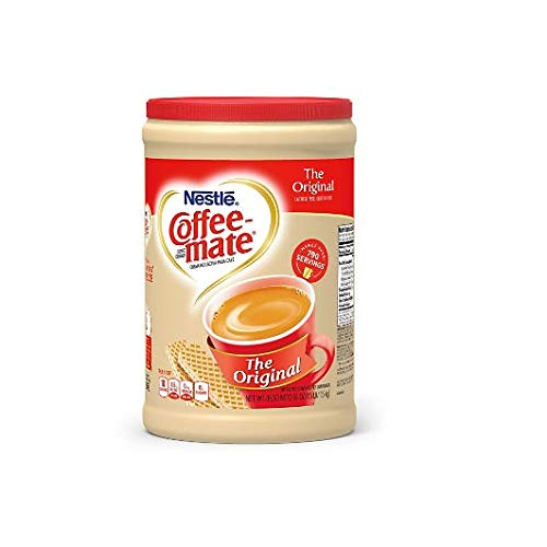Nestle Coffee-mate Coffee Creamer 56oz. Canister (4 Pack) - Canister Creamer