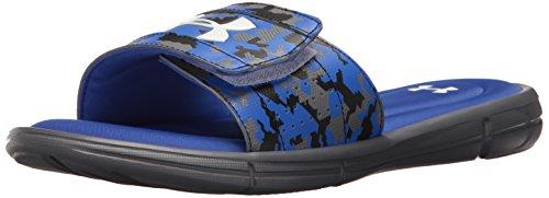 Blue Mens Slides - 8
