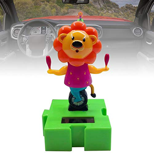 VelvxKl Car Dashboard Lovely Cartoon Sloth Solar Swing Car Decor Interior Ornament Gift