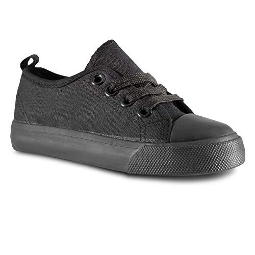 - ZOOGS Kid's Fashion Sneakers,Black,3 M US Little Kid