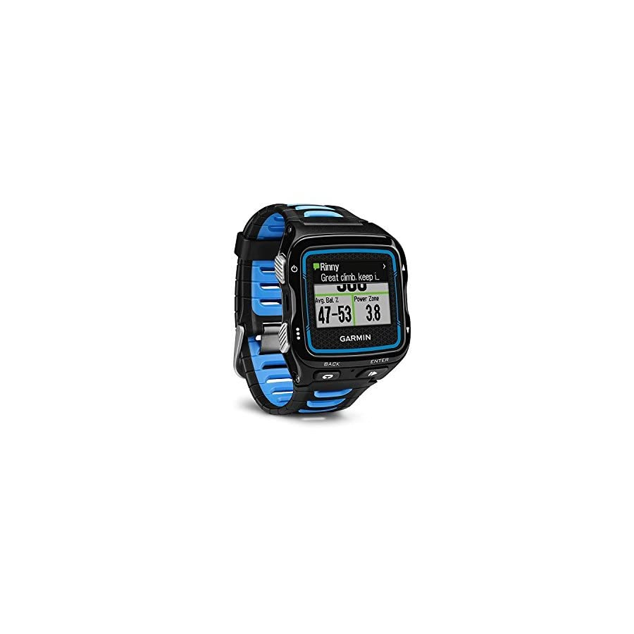 Garmin Forerunner 920XT Black/Blue GPS Sports Watch (Certified Refurbished)