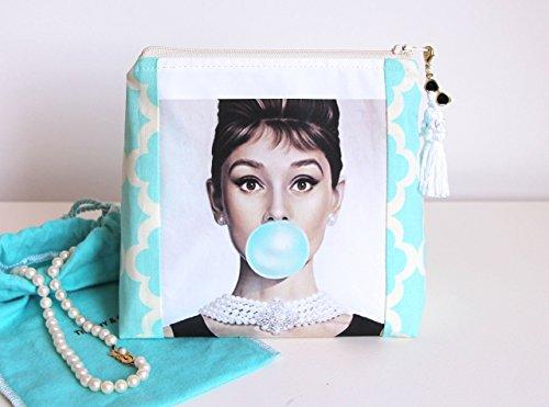 Audrey Hepburn Makeup Bag Makeup Organizer Cosmetic Bag