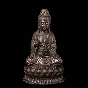 Art Deco Sculpture Modern art bronze Avalokitesvara statue bronze decor