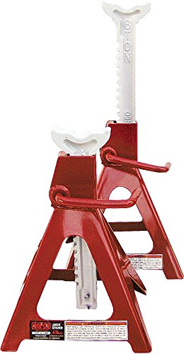Norco Professional Lifting Equipment 81006D Heavy Duty 6 Ton Capacity Jack Stands (Set of 2)