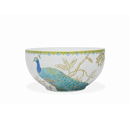 222 Fifth Peacock Garden 16-piece Dinnerware Set, Service for 4 by 222 Fifth (Image #2)