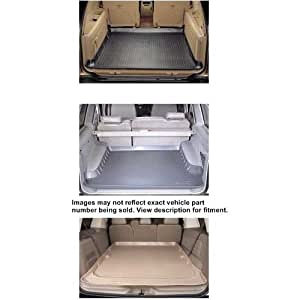 Cargo Liner For Chevrolet ~ Suburban ~ 1992-1999 ~ Grey ~ (Rear 5 ft Liner Can Mount 3RD Seat On Top Via Cutting)