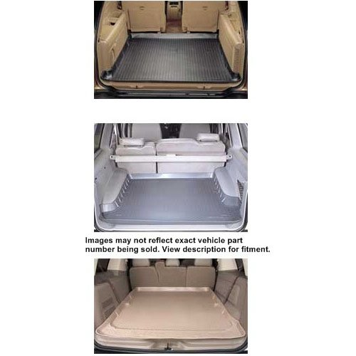 - Cargo Liner For Lincoln ~ Aviator ~ 2003-2005 ~ Tan ~ Behind 2nd Row Seat