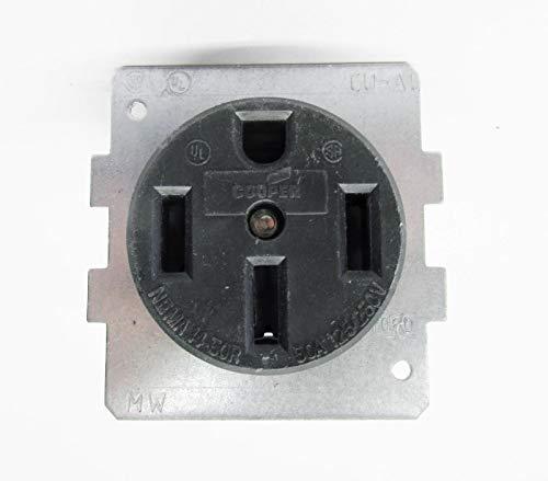 Cooper 1258-BU3 Receptacle Outlet 1/pkg 125/250V 50A Nema 14-50 R