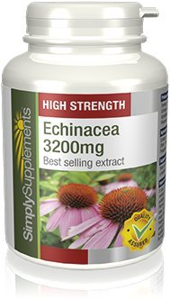 Equinacea 3200mg - ¡Bote para 1 año! – Apta para veganos – 360 cápsulas