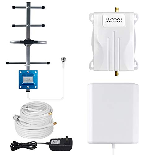 Cell Phone Signal Booster 700Mhz Band 12/17 4G LTE T-Mobile AT&T Cell Phone Booster Amplifier FDD ATT Cellphone Signal Repeater - No More Dropped Calls