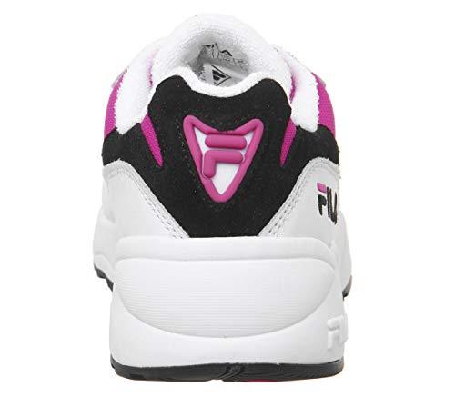 Fila Donna 1010291 Basse 02l Scarpe V94m Low nero Bianco Sneakers rosa Wmn rpRqwgrn5