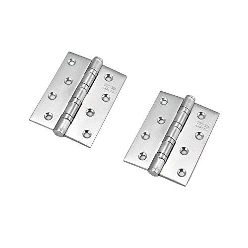 Ksmxos 2PCS Stainless Steel Cabinet 4