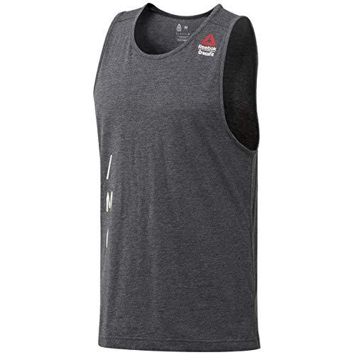 - Reebok Men's Crossfit Burnout Tank Top (Black) CE2629