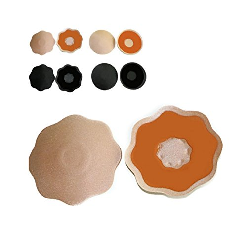 1c67ff5f0cc Hot 1pair Invisible Self Adhesive Silicone Breast Nipple Covers Pasties  Nipples (6.5cm
