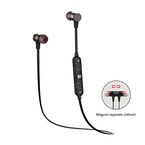 Wireless Sport Headphones Magnetic, AWEI Bluetooth Volume Co