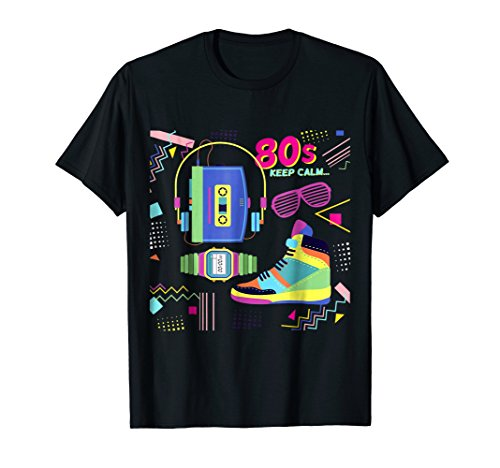 80's Keep Calm T-shirt for men, kids or women